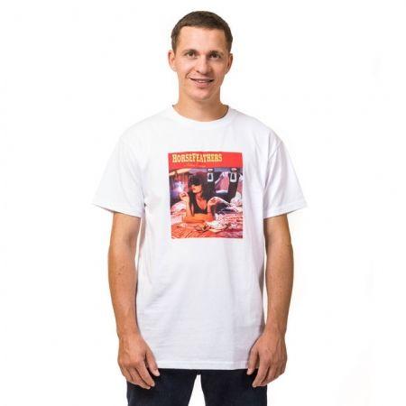 Мъжка тениска - Horsefeathers WALLACE T-SHIRT - 1