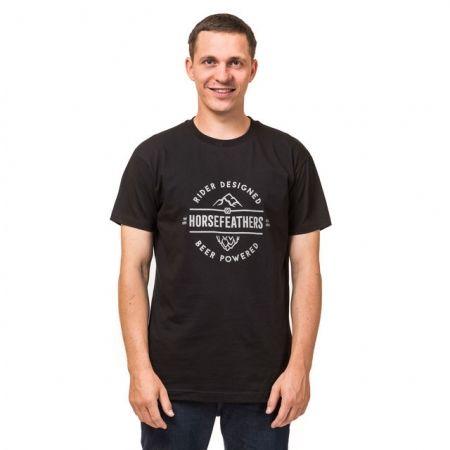 Pánske tričko - Horsefeathers MT. HOP T-SHIRT - 1