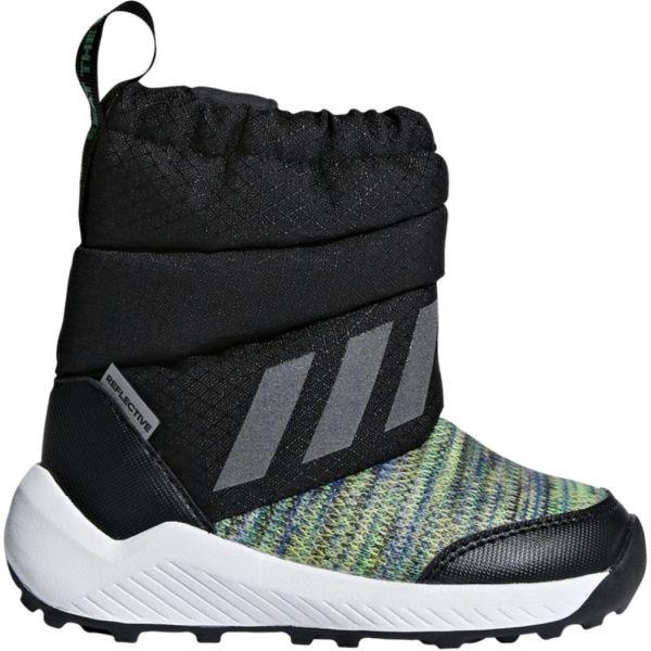 adidas RAPIDASNOW BTW I czarny 21 - Obuwie zimowe dziecięce