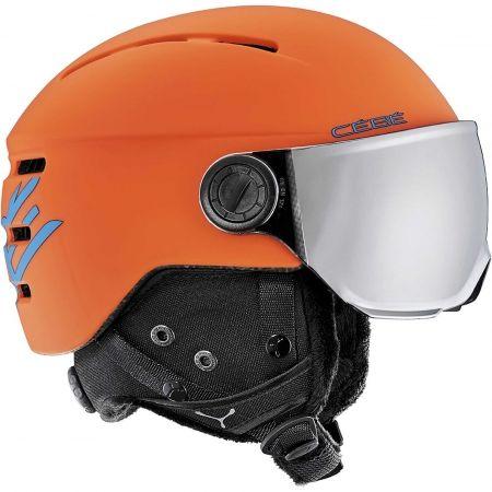 Cebe FIREBALL JR - Children's helmet with visor
