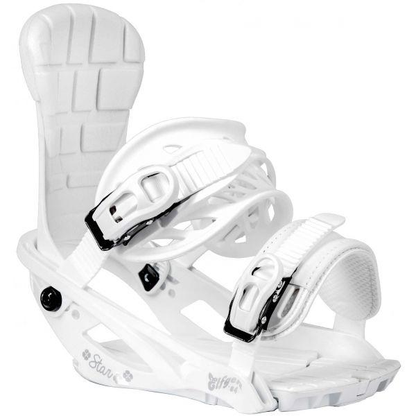 TRANS STAR W biela Dámske snowboardové viazanie M