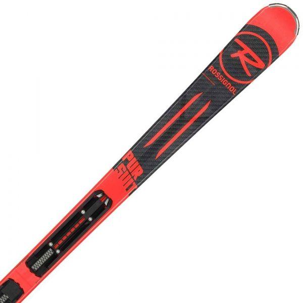 Rossignol PURSUIT RED + XPRESS 10  165 - Lesikló síléc