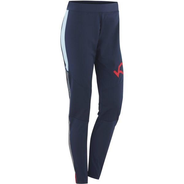 KARI TRAA TOVE modrá M - Dámské funkční kalhoty