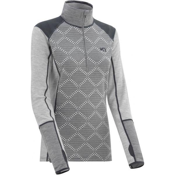 KARI TRAA RETT šedá XL - Dámské funkční triko