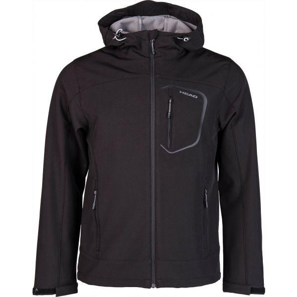 Head OWEN černá XL - Pánská softshellová bunda