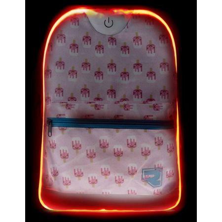 Plecak dziecięcy z oświetleniem LED - Runto RT-LEDBAG-LOLLY - 5