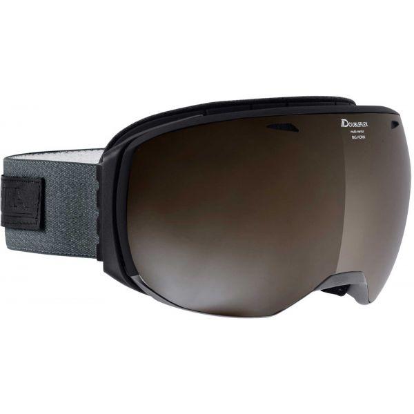 Alpina Sports BIG HORN MM sivá NS - Unisex lyžiarske okuliare