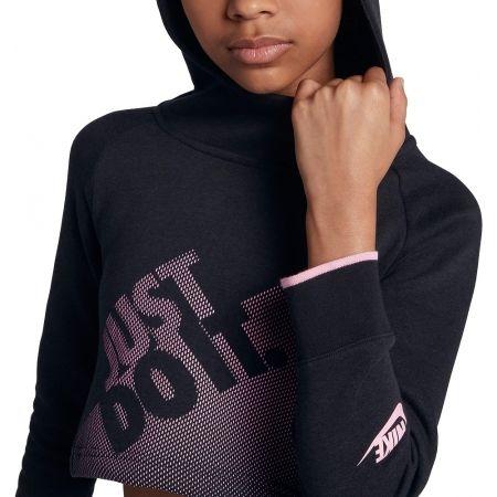 Dievčenská krátka mikina - Nike G NSW HOODIE CROP PE GX - 6