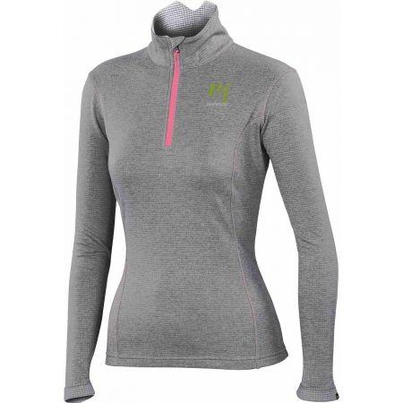Women's sweatshirt - Karpos PIZZOCCO W HALF ZIP