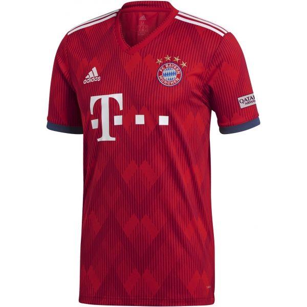 adidas DFB H JSY červená M - Pánský Dres FC Bayern Home