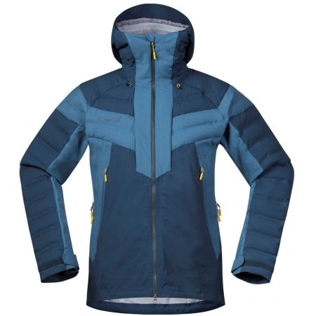 Men's ski jacket - Bergans HEMSEDAL HYBRID JKT - 1