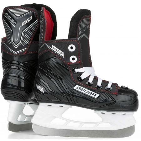 Bauer SUPREME SCORE SKATE YTH - Dětské hokejové brusle