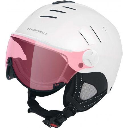 Dámská lyžařská přilba s visorem - Mango VOLCANO VIP - 1