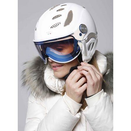 Unisex lyžiarska prilba s priezorom - Mango CUSNA VIP - 2