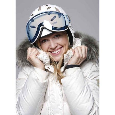 Unisex lyžiarska prilba s priezorom - Mango CUSNA VIP - 3