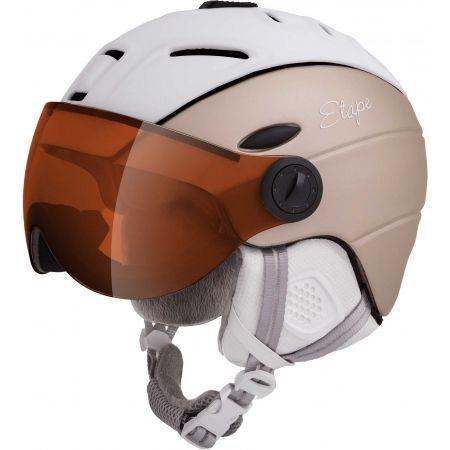 Dámská lyžařská přilba s visorem - Etape GRACE PRO - 1