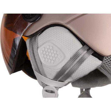Dámská lyžařská přilba s visorem - Etape GRACE PRO - 3