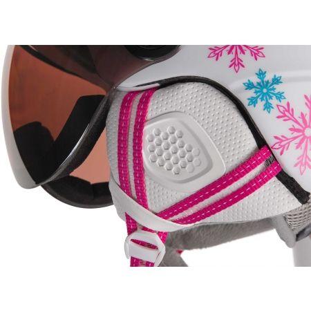 Detská lyžiarska prilba so štítom - Etape RIDER PRO - 3