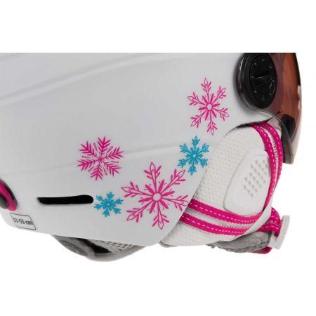Detská lyžiarska prilba so štítom - Etape RIDER PRO - 4