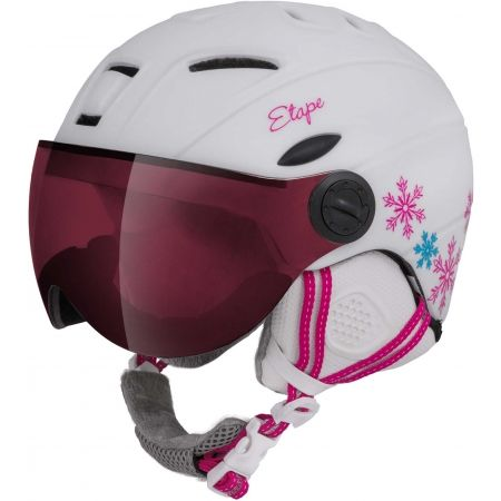 Etape RIDER PRO - Children's ski helmet with a visor