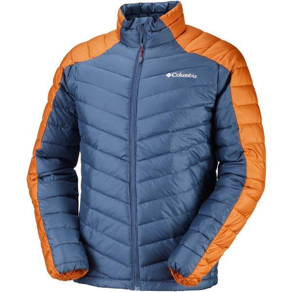 Columbia HORIZON EXPLORER JACKET modrá M - Pánská zateplená bunda