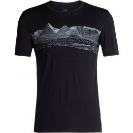 Icebreaker TECH LITE SS CREWE PRENEES - Pánske funkčné tričko