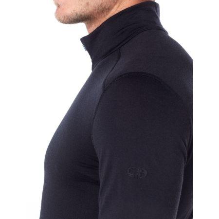 Men's functional T-shirt - Icebreaker OASIS LS HALF ZIP - 3