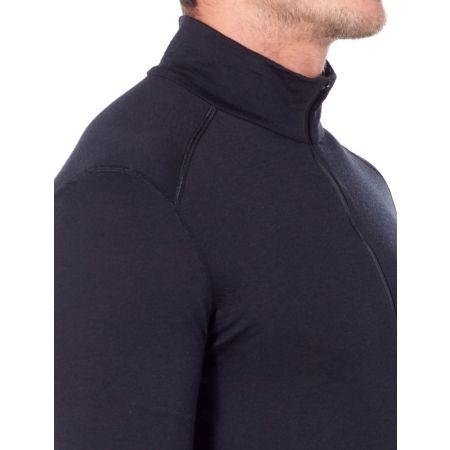 Men's functional T-shirt - Icebreaker OASIS LS HALF ZIP - 4
