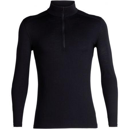 Men's functional T-shirt - Icebreaker OASIS LS HALF ZIP - 1