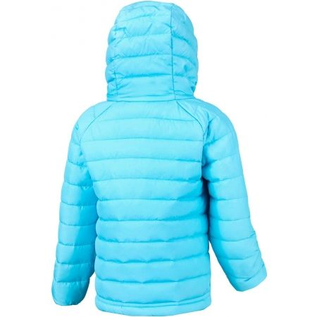 Dívčí zateplená bunda - Columbia POWDER LITE GIRLS HOODED JACKET - 2