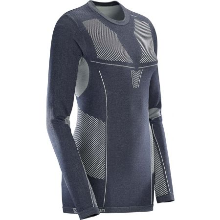Women's functional T-shirt - Salomon PRIMO WARM LS CN TEE W - 2
