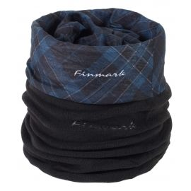 Finmark MULTIFUNCTIONAL SCARF WITH FLEECE - Scarf