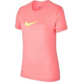 Nike LEGEND SS TOP YTH - Dievčenské športové tričko