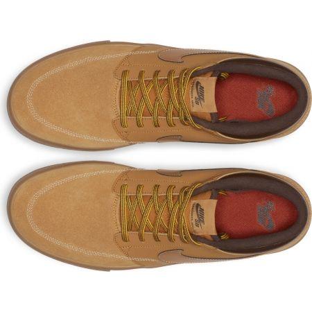 Pánska voľnočasová obuv - Nike SB PORTMORE II SOLARSOFT MID - 4