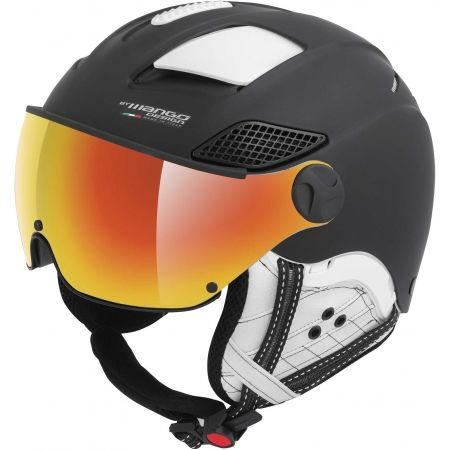 Mango MONTANA PRO+ - Unisex ski helmet with a visor