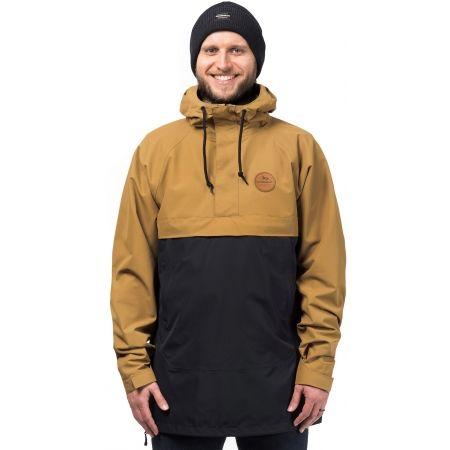 Pánska lyžiarska snowboardová bunda - Horsefeathers FOKKER JACKET - 1 cf5ca1d0201