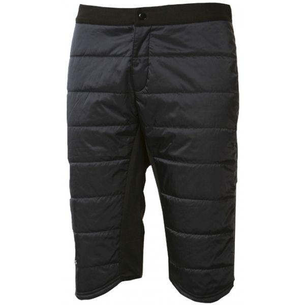 Progress IZZY černá XL - Pánské zimní zateplené kraťasy