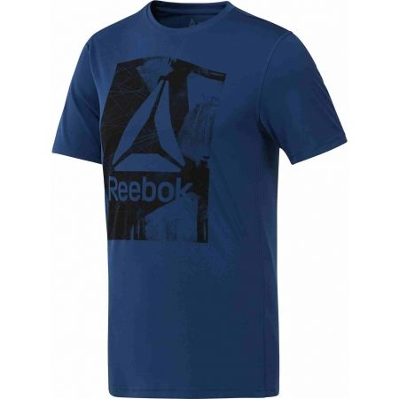Tricou de bărbați - Reebok WORKOUT READY GRAPHIC SMU TOP - 1