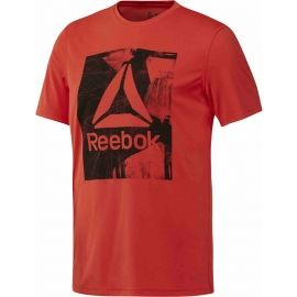 Reebok WORKOUT READY GRAPHIC SMU TOP - Pánské triko