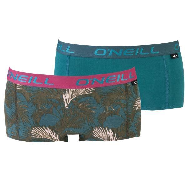 O'Neill HIPSTER WITH DESIGN 2-PACK rózsaszín S - Női alsónemű