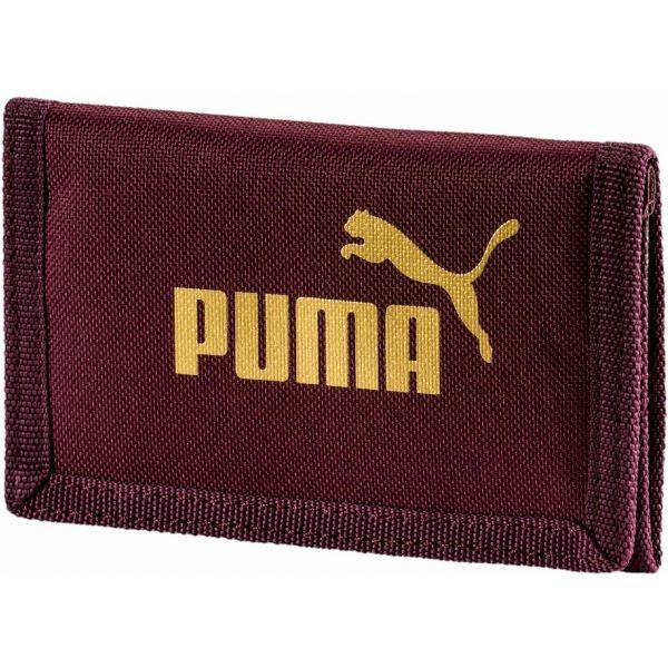Puma PHASE WALLET vínová UNI - Peňaženka