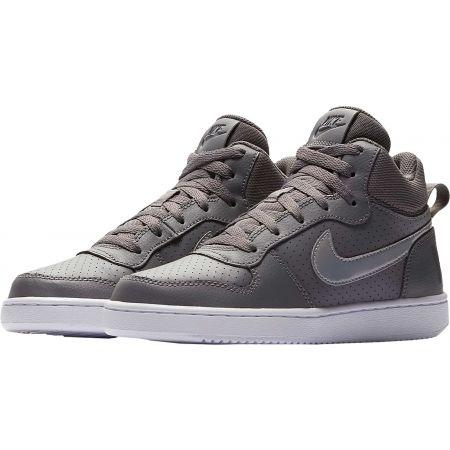 Dětské volnočasové boty - Nike COURT BOROUGH MID GS - 2