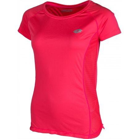 Дамска спортна тениска - Lotto XRIDE III TEE RGL W - 2