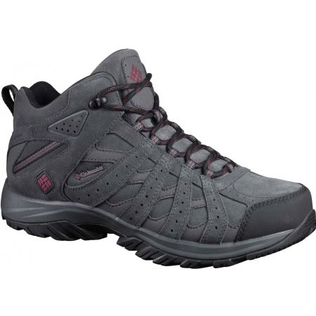 Pánská treková obuv - Columbia CANYON POINT MID LEATHER OMNI TECH - 1
