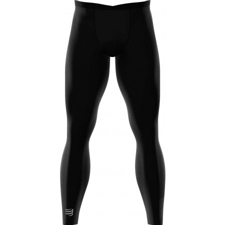 Compressport FULL TIGHTS UNDER CONTROL - Kompresyjne legginsy męskie