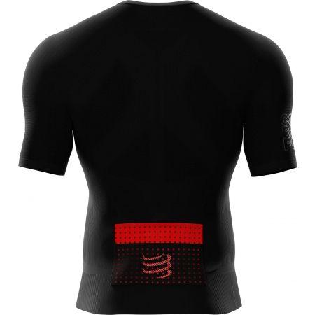 Pánské běžecké triko - Compressport POSTURAL SS TOP - 2