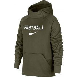 Nike NK THRMA HOODIE PO FTBL - Chlapčenská športová mikina