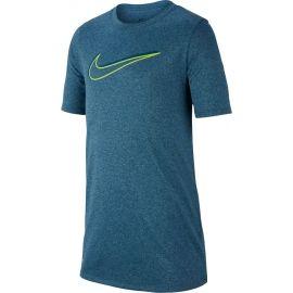 Nike NK DRY LEG TEE 3D SWOOSH - Chlapčenské športové tričko