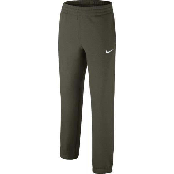 Nike PANT N45 CORE BF CUFF ciemnozielony S - Spodnie dresowe chłopięce