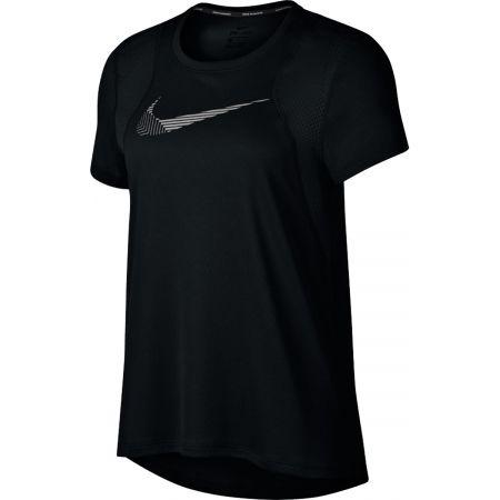 Tricou alergare damă - Nike RUN TOP SS FL - 1